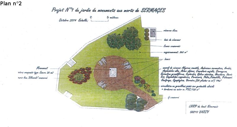 Un projet paysager en partenariat avec la commune de Sermage