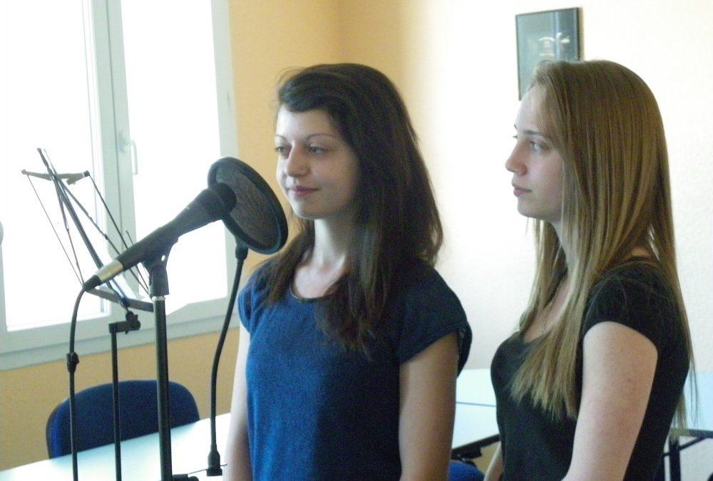 Enregistrement de poèmes et chansons