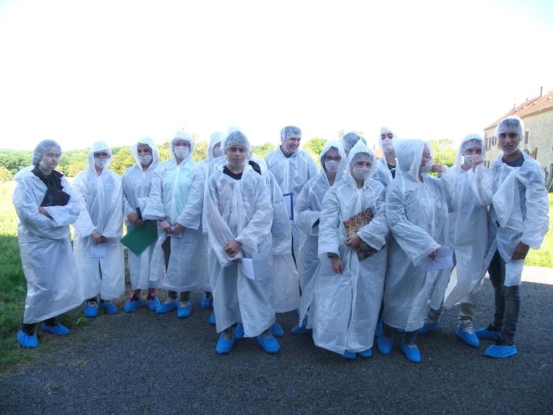 Visite de l'entreprise Foie gras Coudray-Ozbolt