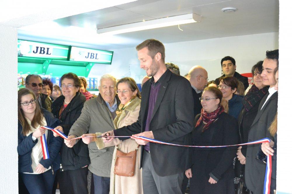 Inauguration de l'animalerie
