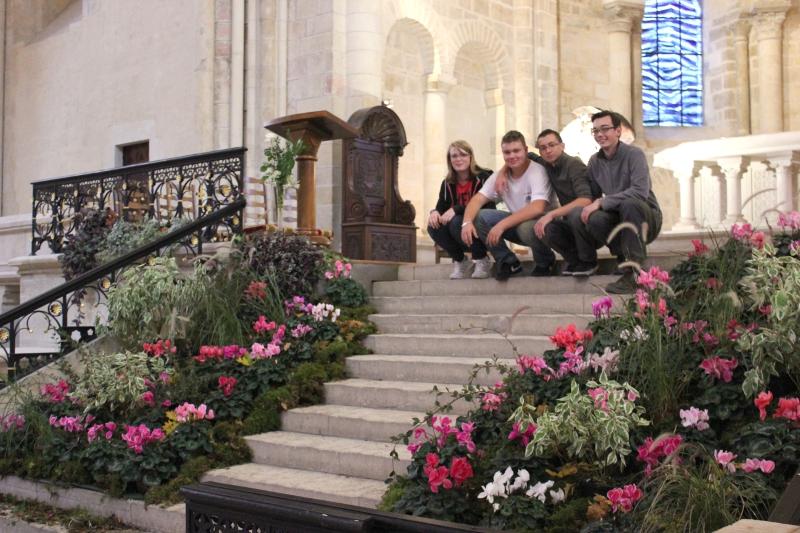Des décors végétaux à la cathédrale de Nevers