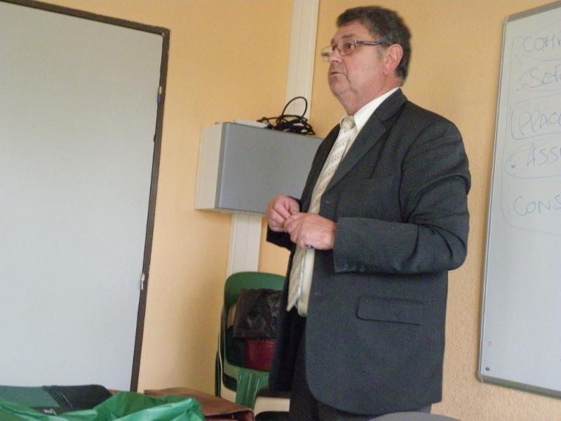Intervention du Directeur du Crédit Agricole en BTSA