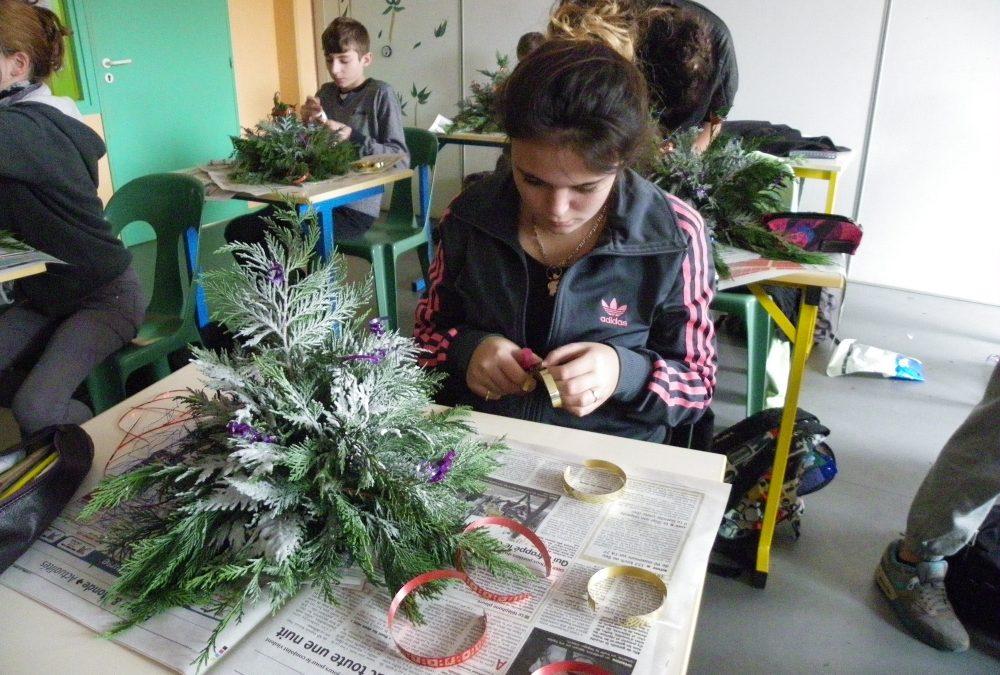 Des compositions de Noël made in 4°