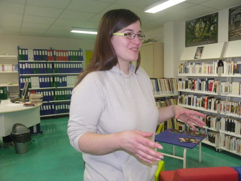 Auteur et éditrice de livres adaptés à la dyslexie