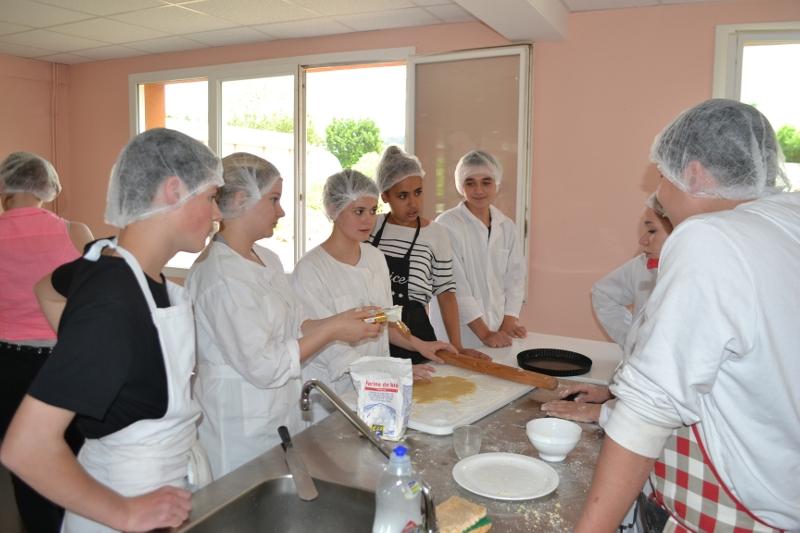 Projet cuisine en Education socioculturelle