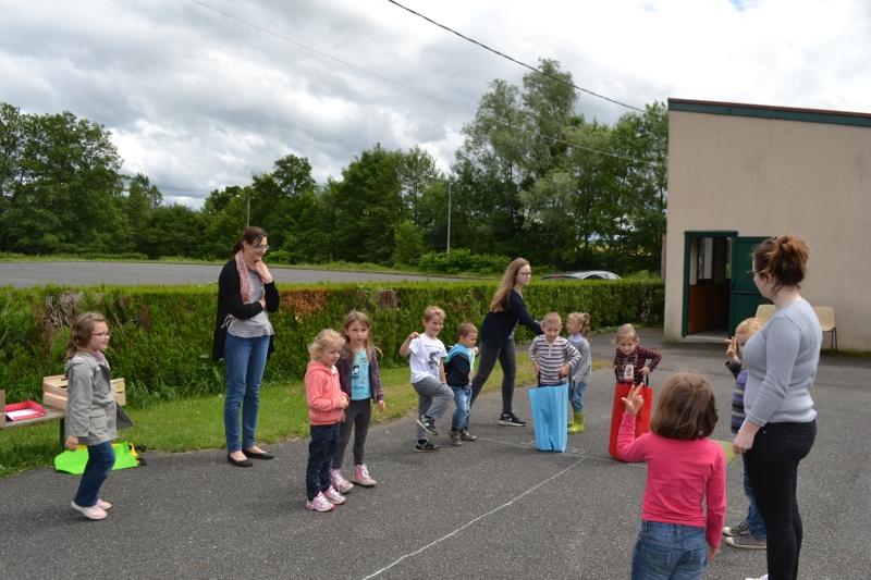 Une mini kermesse pour les enfants de l'école de Corvol l'Orgueilleux