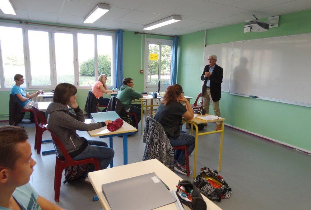 Une rencontre pour un projet pour l'Education nationale