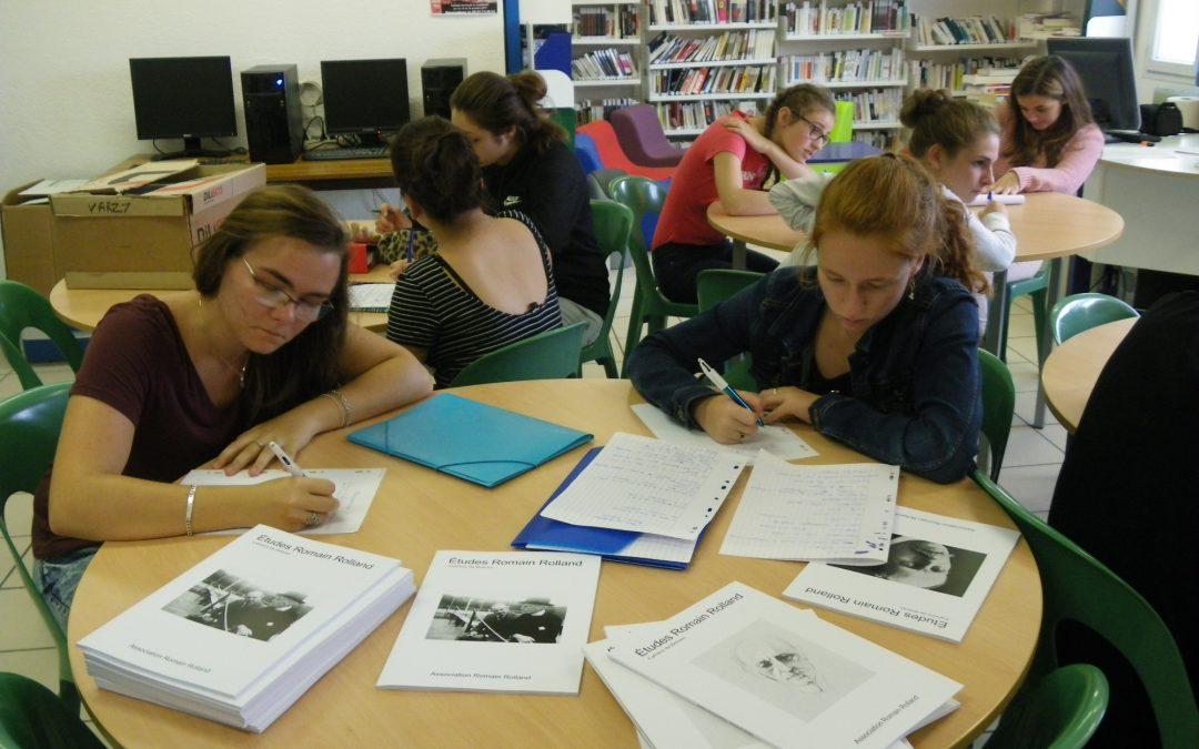Un projet littéraire pour une association
