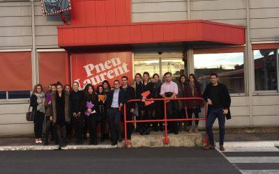 Visite de l'entreprise SNC Pneu Laurent…