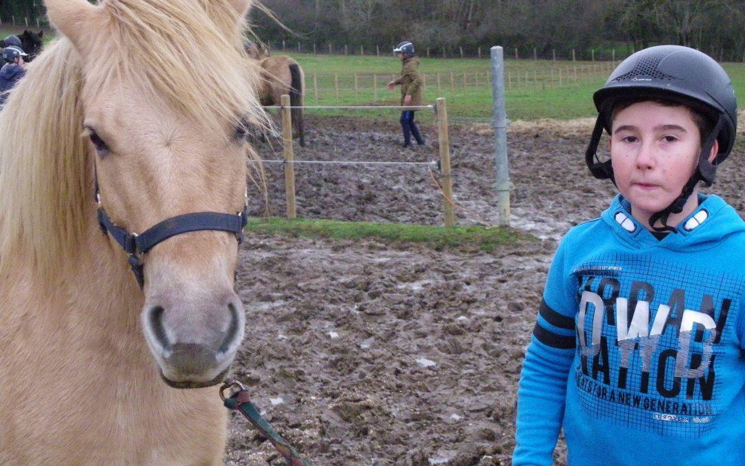 Ils aiment l'équitation