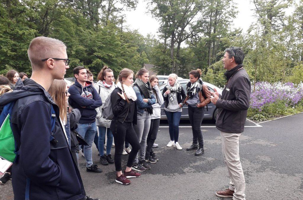 Les BTSa visitent les coulisses du parc Le Pal