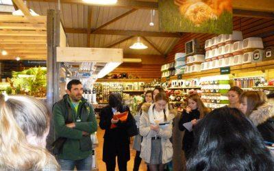Visite de l'animalerie Botanic en BTSA