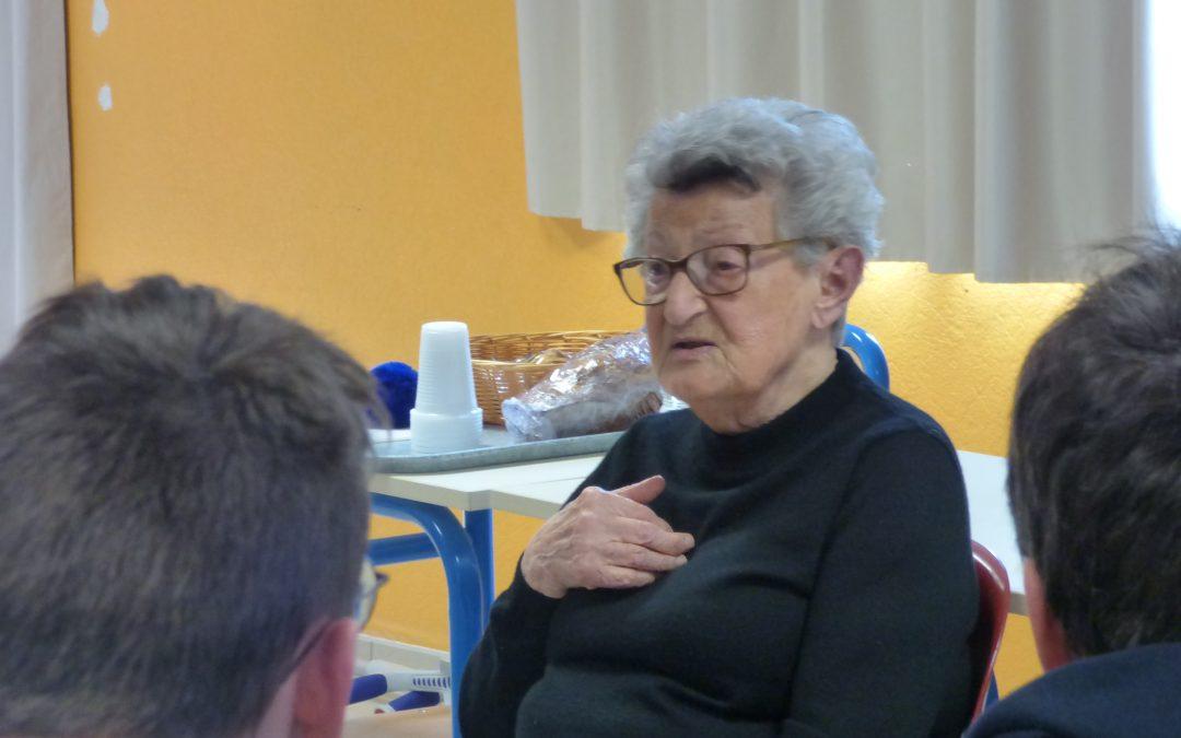 Génia Oboeuf témoigne pour l'histoire